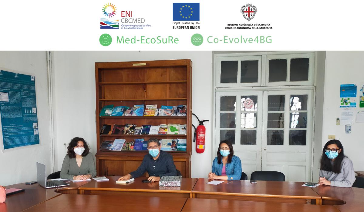 Med-EcoSuRe and Co-Evolve4BG put into action planned synergies
